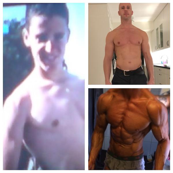 att bygga muskler